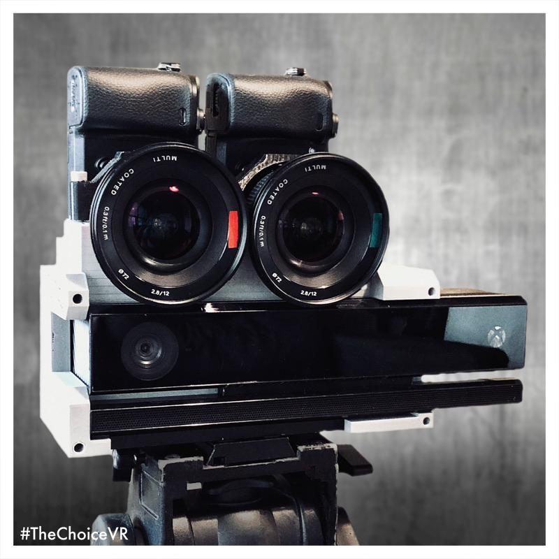 The Choice VR - stereoscopic & volumetric camera rig
