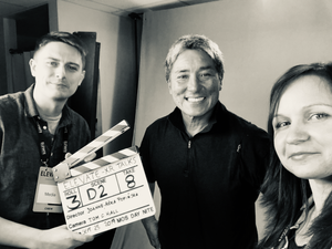 Tribe of Pan founders, Joanne-Aśka Popińska and Tom C. Hall interviewing legendary evangelist, Guy Kawasaki
