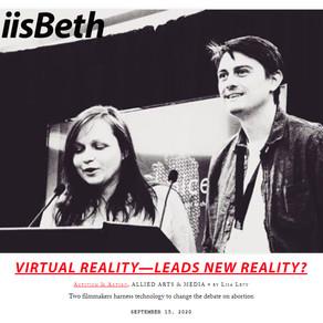 Liisbeth: Virtual Reality - leads new reality?
