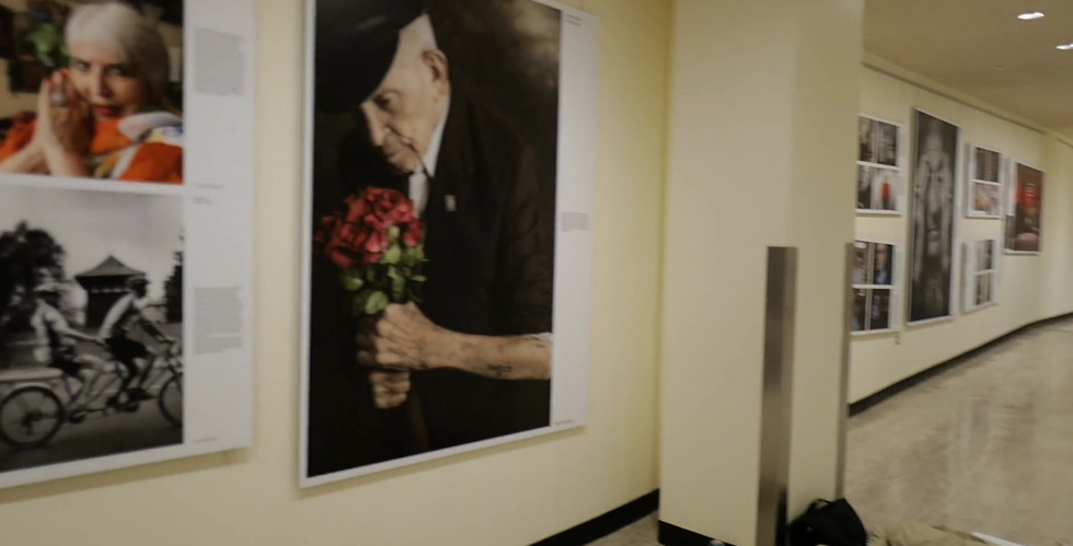 The Lonka Project opening International Holocaust Remembrance Day - January 27, 2020                    Video by Jim Hollander