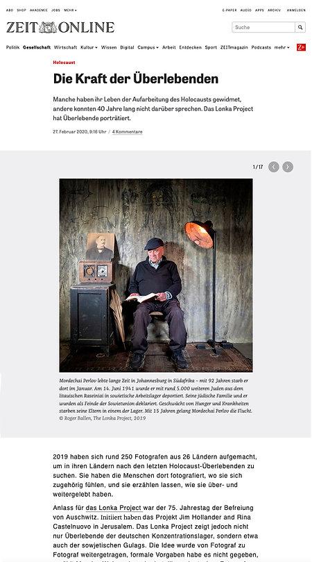 CLIP Zeit Online - The Lonka Project - w