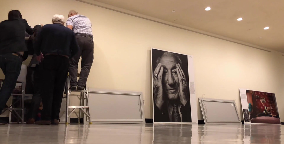 The Lonka Project is dismantled in a time-lapse video, after a two-week exhibition in the United Nations in New York City