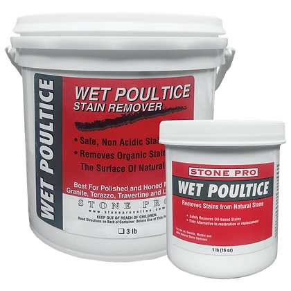 Stone Pro Wet Poultice Oil Stain Remover
