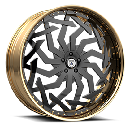 Asanti Legacy FS20 Black and Gold