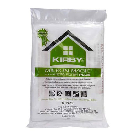Kirby Micron Magic Plus HEPA Allergen Filter Bags