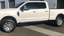 Custom Truck Window Tint