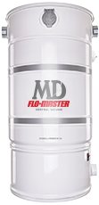 MD Flo-Master Central Vacuum System