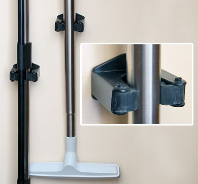 MD Stealth Wand Wall Clamps