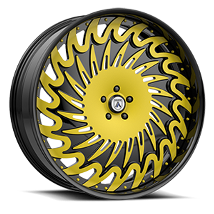 Asanti Legacy FS16 Black and Yellow