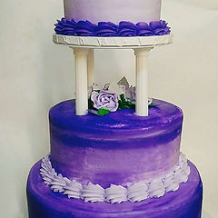 purple quinceanera cake.jpg