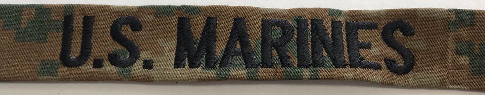 Marine Corps  Woodland Digital Name Tape