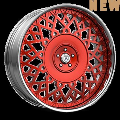 Asanti Legacy FS 24 Red and Chrome