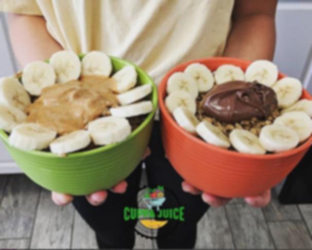 Organic Acai Bowls