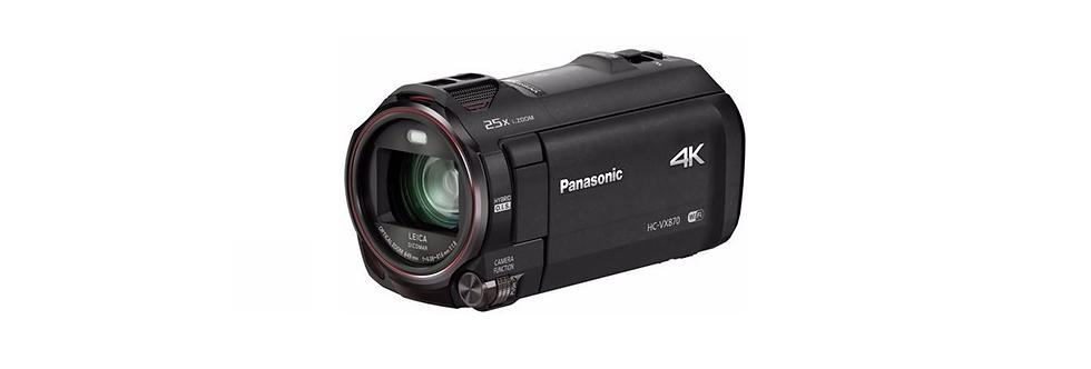 PACK Camcorder Panasonic 4K