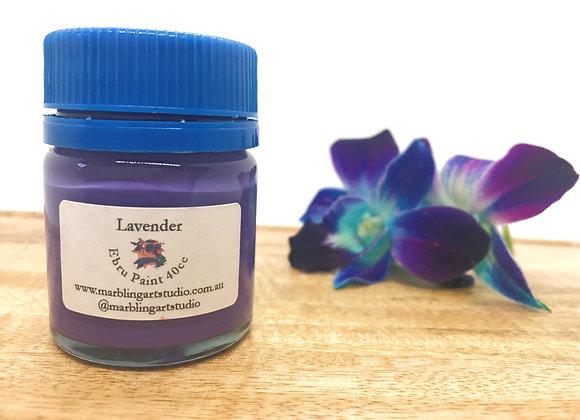 Lavender Ebru Paint - 40cc