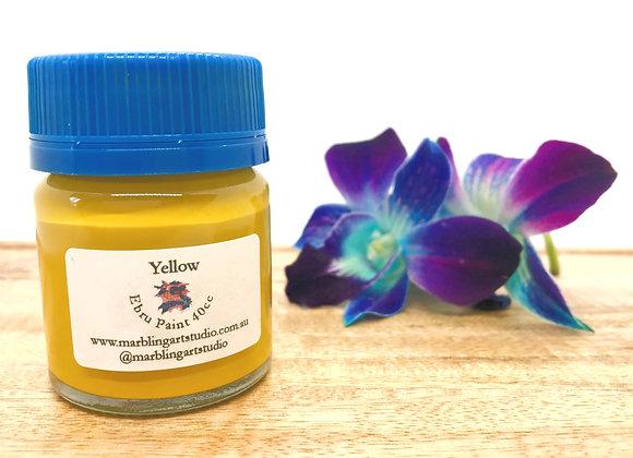 Yellow Ebru Paint - 40cc