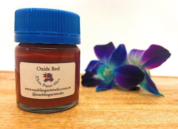 Oxide Red Ebru Paint - 40cc