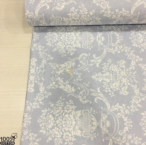 Ürün No: A32853819 Yalı Damask Desenli Poplin Kumaş