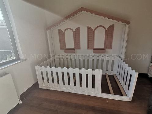 Ürün No: 33354439 Premium Montessori Yatak (Ahşap Eskitme Yapıldı)