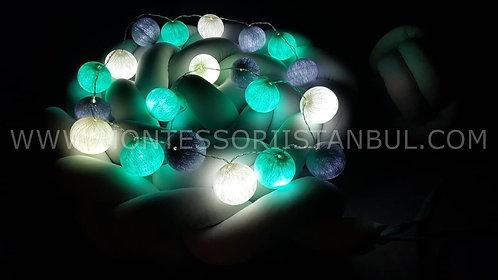 Ürün No: 32654365 Işıklı Toplar
