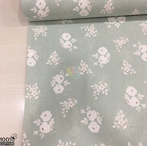 Ürün No: A32853822 Bodrum Gülleri Desenli Poplin