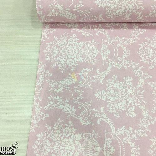 Ürün No: A32853818 Yalı Damask Desenli Poplin Kumaş