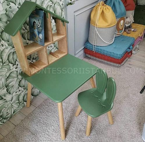 Ürün No: 37054420 Çocuk Masa, Sandalye