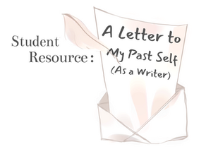 A Letter To My Past Self (As a Writer)