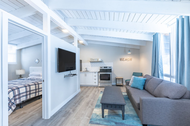 Living Room in Boutique Suite 8