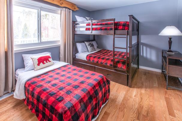 Bedroom in Rustic Chalet