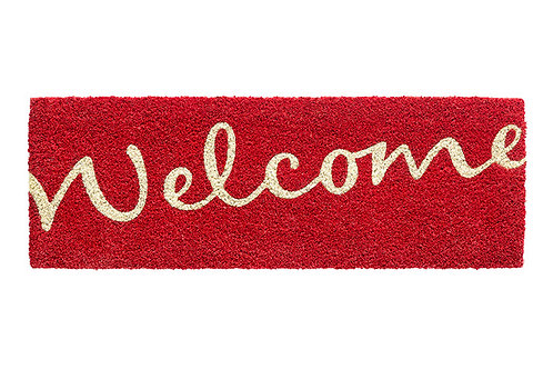 1471267720 RUCO PRINT WELCOME RED 26X75