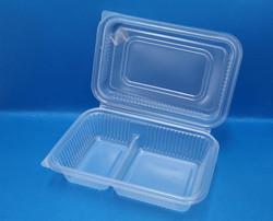 (大) 連體雙格微波爐飯盒