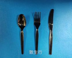 黑色刀, 羹, 叉