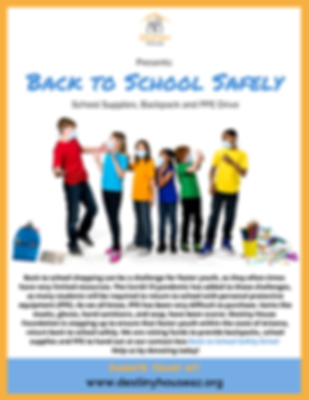Back to School Safely Flyer Letter Sized