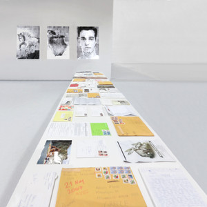 Material Returned. Performative lectures (20 min), Mixed Media Installation, Nikos Kessanlis Exhibition Hall. Athens School of Fine Arts, Greece. 2016.