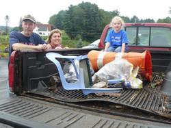 RiverSweep 2008, Joe, Suzy and truck