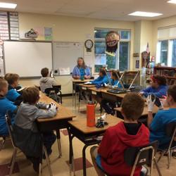 CTES students pre-Sweep talk