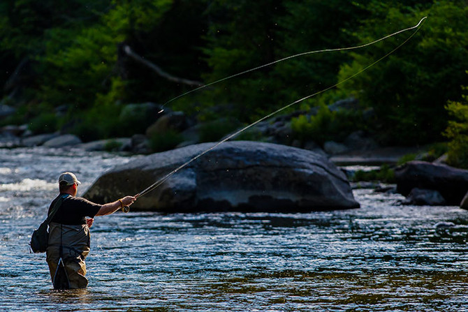 Hard-core anglers find BRAT