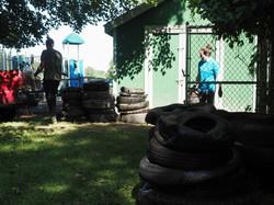Tire piles by Semprebon