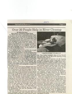 RiverSweep 2003
