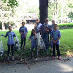 Moria Farnsworth's kids post-cleanup 2015_02