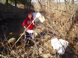 Armando helping with Bug Hunt