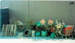Junk haul, RiverSweep 2000