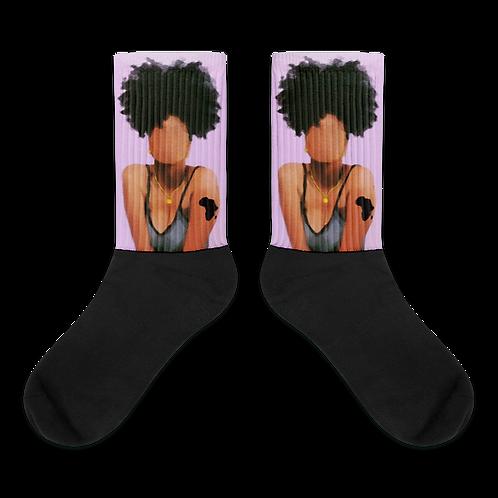 """""""AFRO-ca"""" Socks"""