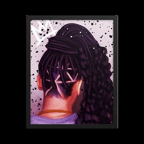 """""""Faux Goddess"""" Framed Print"""