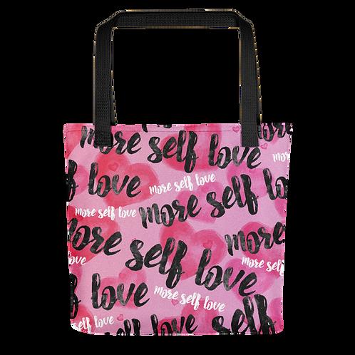"""""""More Self-Love"""" Tote Bag"""