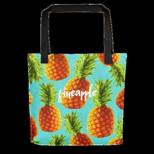 """Fineapple Crush"" Tote Bag"