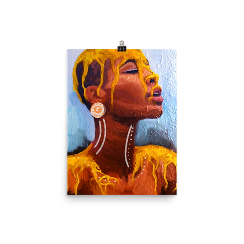 """""""Dipped In Gold"""" Print"""