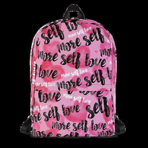 """More Self-Love"" Backpack"
