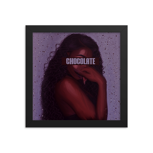 """Chocolate"" Framed Print"